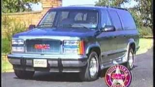 James Wood auto dealerships ad - 1993
