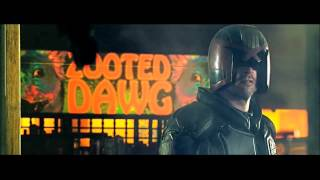 "DREDD [2012] Scene: ""I Said...Hot Shot."""