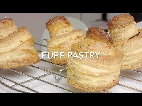 How to Make Puff Pastry Dough - Double Turn Technique