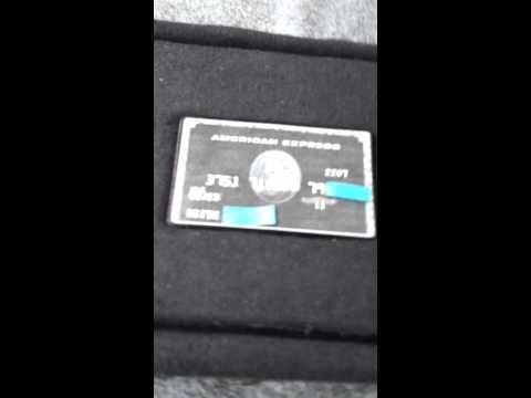 Black American Express Centurion Card Working Replica ...