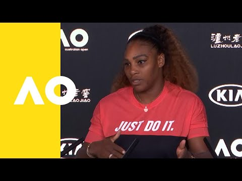Serena Williams press conference 2R  Australian Open 2019