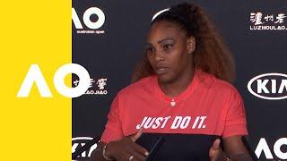 Serena Williams press conference (2R) | Australian Open 2019 Video