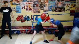 #бокс#спорт# Совместная тренировка.