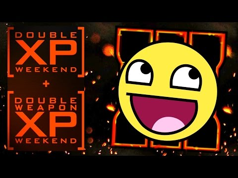 Black Ops 3 TRIPLE DOUBLE Weekend! Double XP, Weapon XP, Zombies XP, and more!