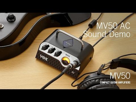The VOX MV50 – AC Demo