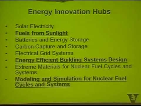 """The Federal Outlook for Energy Research and Sustainability"""