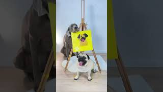 Oscar Dog Painter