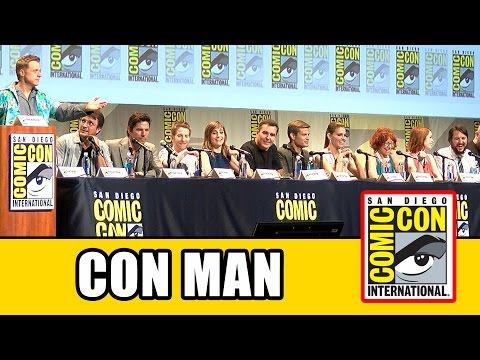 Con Man Comic Con Panel - Felicia Day, Nathan Fillion, Alan Tudyk, Wil Wheaton, Michael Trucco