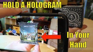 MERGE CUBE Review, Hold a HOLOGRAM in Your HANDS! Augmented Reality At Its Best