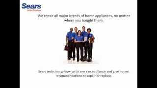Appliance Repair Service Sears Home Services