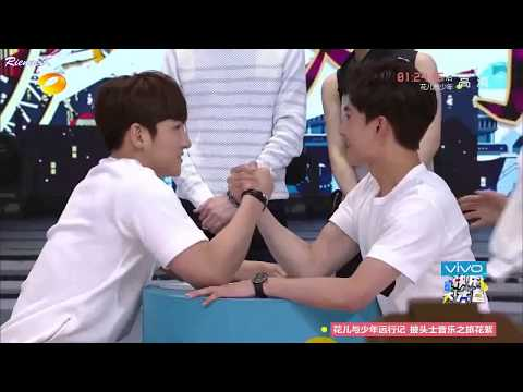 [Eng subs] 2015.05.16 Yang Yang vs Ji Chang Wook @ Happy Camp