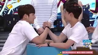 [Eng subs] 2015.05.16 Yang Yang vs Ji Chang Wook @ Happy Camp