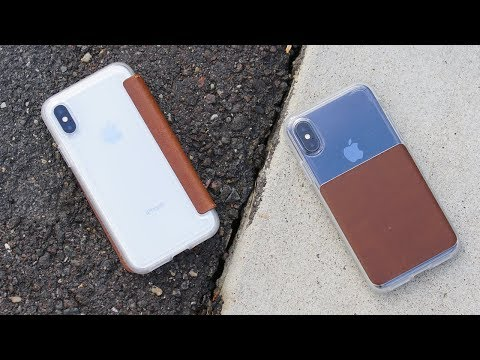 iPhone X: 5 Awesome Leather Cases!