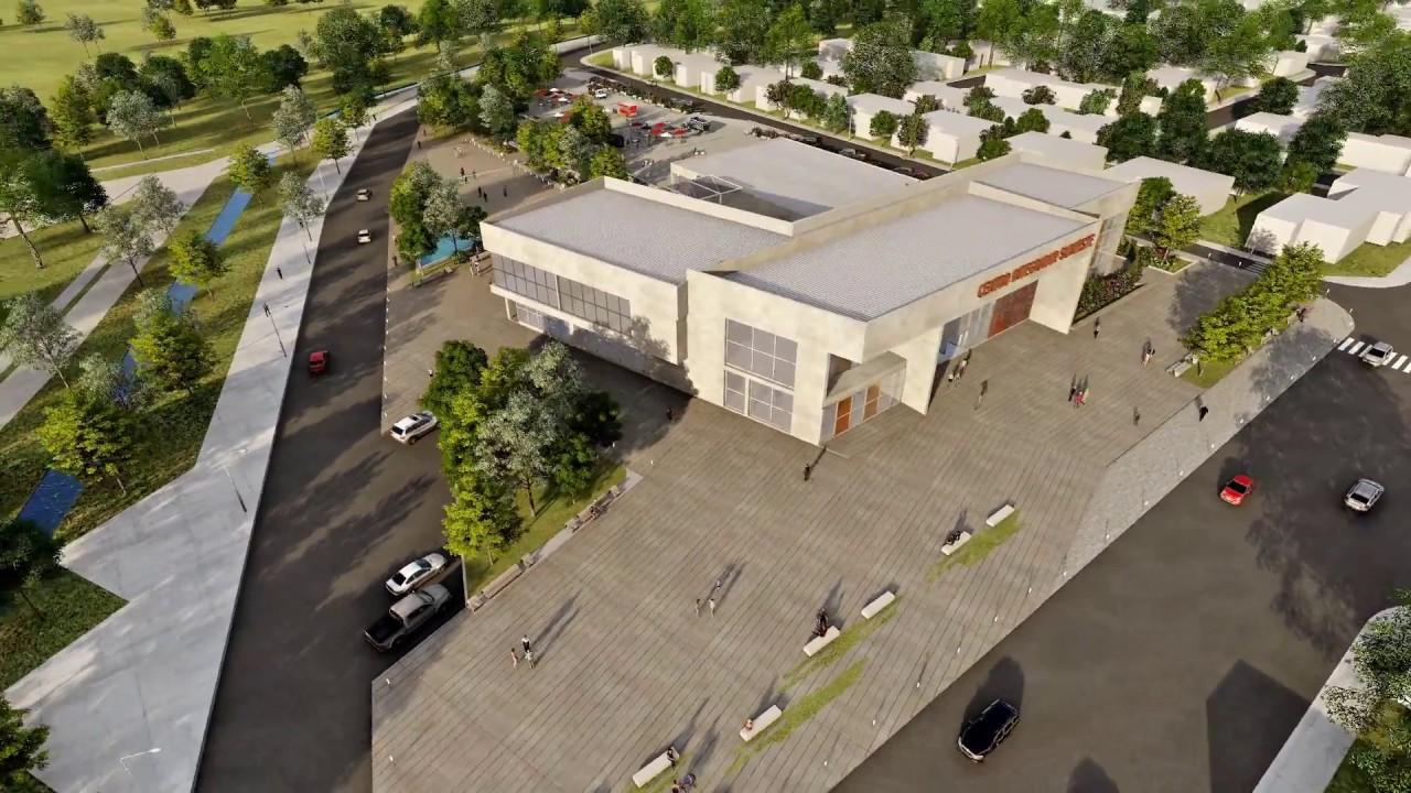 tesis de arquitectura centro integrador suroeste rec