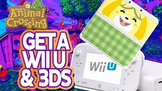 Animal Crossing New Leaf: How to Get a Wii U and 3DS!