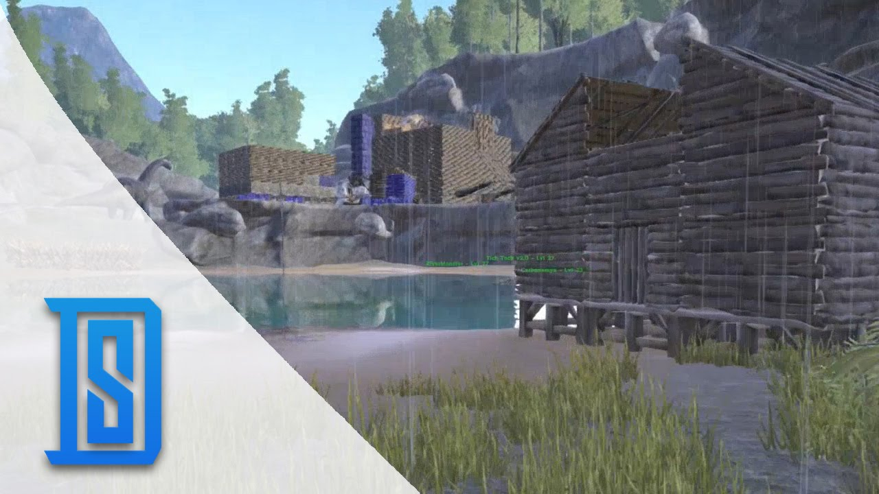 how to build greenhouse on ark