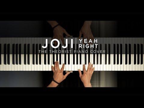 Joji - Yeah Right | The Theorist Piano Cover
