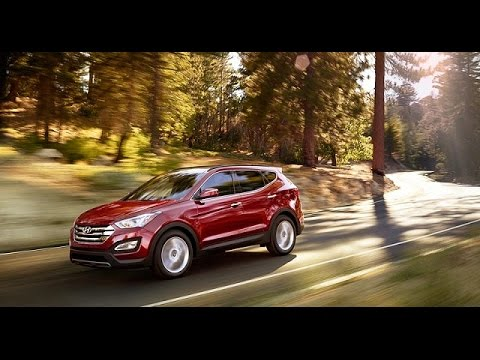 2017 Hyundai Santa Fe 7 Seat SUV Sport Model Review #1