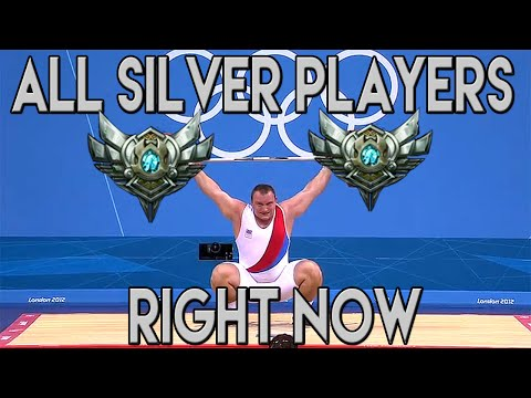 All silver players right now