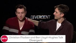 Ben Lloyd Hughes Christian Madsen Talk DIVERGENT With AMC
