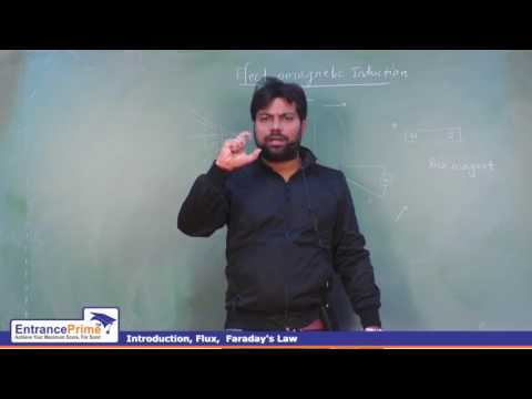 Electromagnetic Induction (Lecture 1) | Avinash Tiwari Sir From EntrancePrime Kota