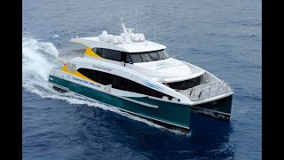 24m - Catamaran Ferry - Freedom Sovereign - designed by Incat Crowther