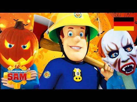 Feuerwehrmann Sam Deutsch Neue Folgen | Kürbisfest 🎃 Halloweenkostüm | Cartoons fur Kinder