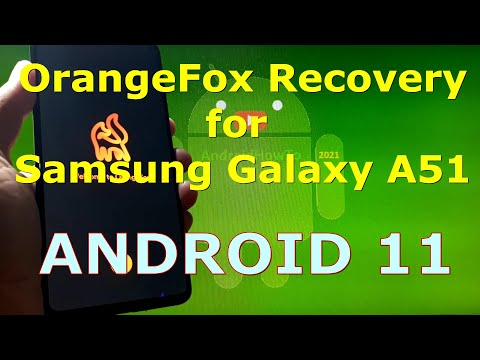 OrangeFox Recovery for Samsung Galaxy A51 Android 11