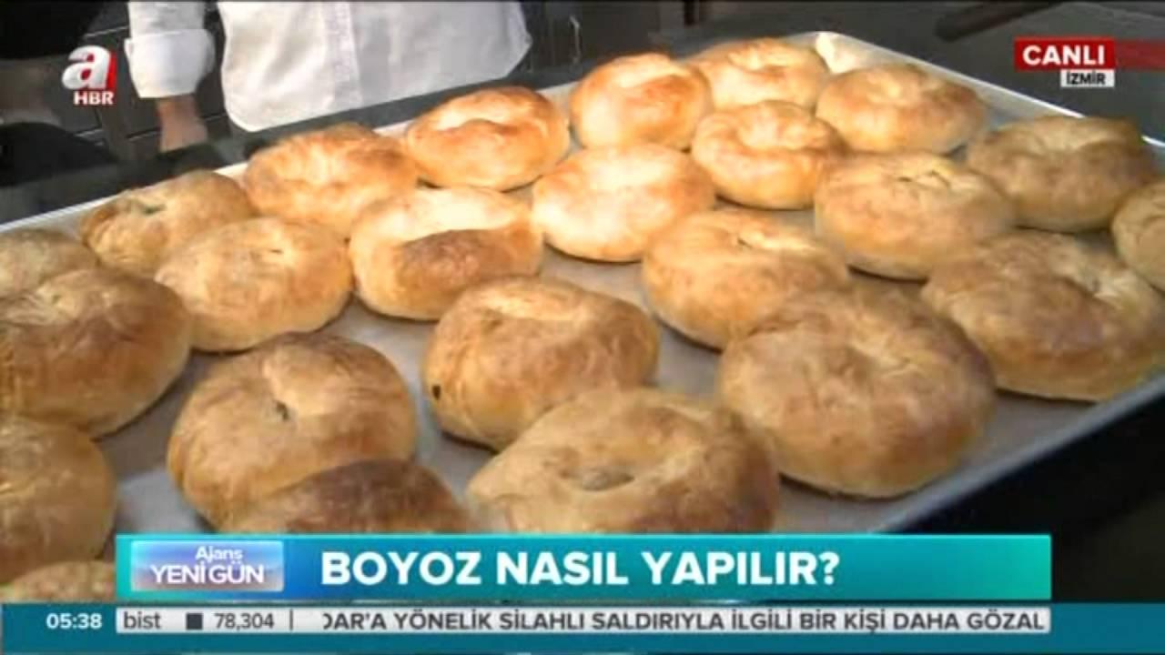 İzmir'in Meşhur Boyoz Tarifi