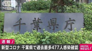 千葉県で新たに477人感染 5日連続で過去最多を更新(2021年1月9日) - YouTube