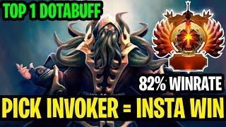 Pick Invoker - Insta Win - 82%Winrate Top 1 Invoker Dotabuff - Dota 2