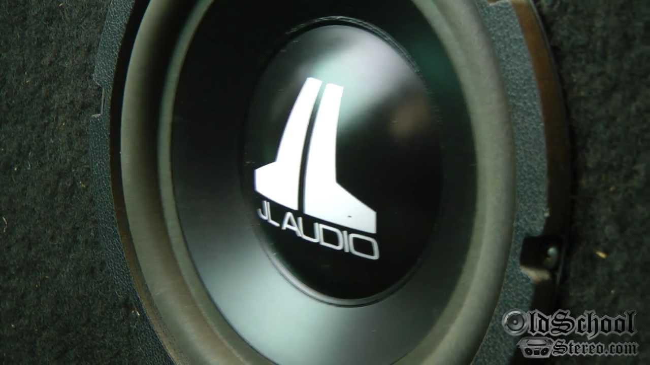 """Old School 8"""" Subwoofer Demo - JL Audio 8W1 v1"""