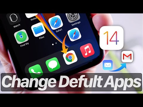 How to change the default browser & Email Apps on iPhone & iPad