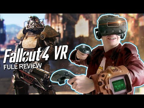 FALLOUT IN VIRTUAL REALITY!  | Fallout 4 VR (HTC Vive Gameplay Review)