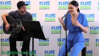 Jessie J - Acoustic Performance 'Bang Bang' on Elvis Duran