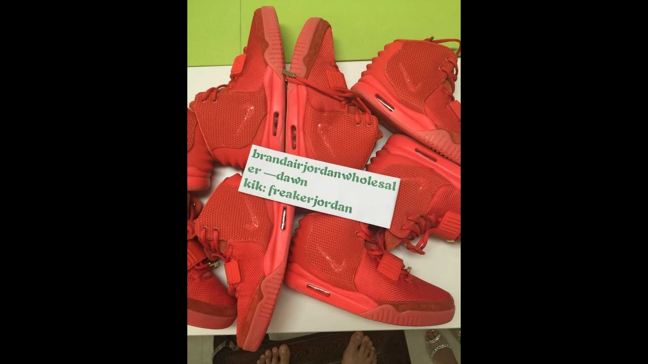 ca730427 2015 Final fixed Authentic Nike Air Yeezy 2 Red October In Stock !!!