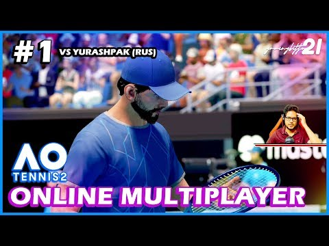 AO Tennis 2 - Melbourne - ONLINE MODE IMPRESSIONS #1 - PC Gameplay