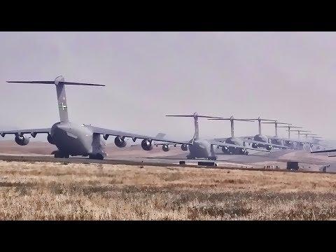C-17 & C-130 Elephant Walk & Minimum Interval Takeoff
