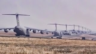 C-17 & C-130 Elephant Walk & Minimum Interval Takeoff