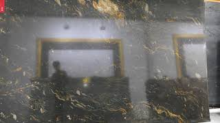 1085 블랙 천연 대리석 - 인테리어 아트월 마감 시…