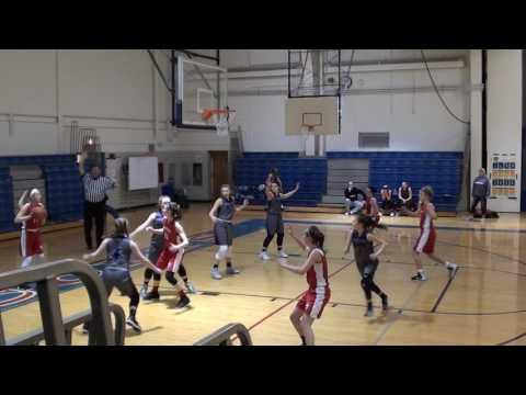 2 18 2017 Peters Township 8th Grade Girls Travel vs Baldwin