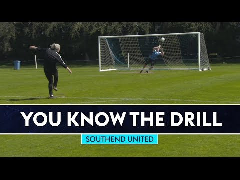 Clinical Finishing Challenge | Southend United | You Know The Drill