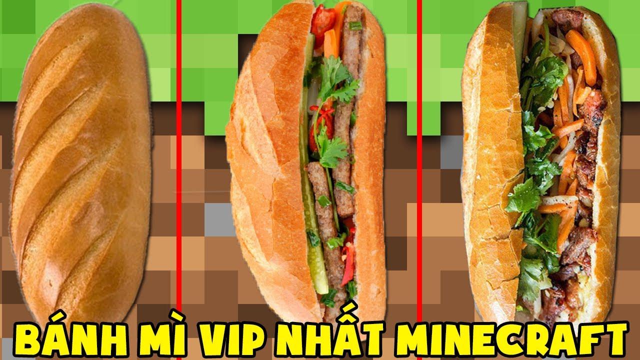Minecraft, Nhưng Noob Sở Hữu Bánh Mì Vip Nhất! T Gaming Có Bánh Mì Việt Nam Siêu Vip ??