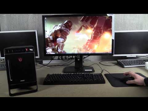 Test du MSI Nightblade Z97 mini PC Gamer