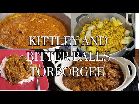 LIBERIAN KITTLEY AND BITTER BALLS TORBORGEE