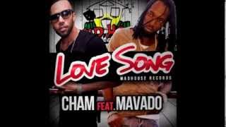 Mavado Ft Cham - Love Song | Final Mix | Fighters Riddim | February 2014