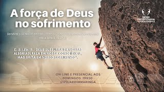 Salmo 34.1-3 - A força de Deus no sofrimento