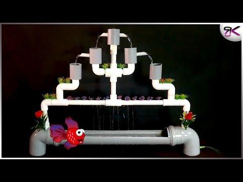 How to Make a Full PVC Aquarium Fountain | AWESOME DIY