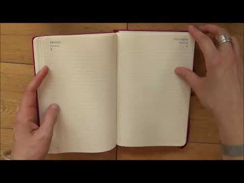 Moleskine 2018 daily planner review - YouTube