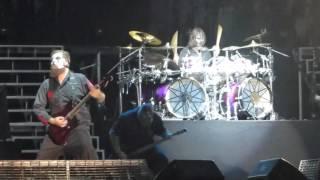 Slipknot Wait and Bleed,(sic) en Lima Peru 2016